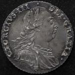GREAT BRITAIN George III ジョージ3世(1760~1820) Shilling 1787 トーン AU~UNC