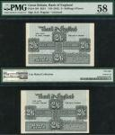 Bank of England, Kenneth Oswald Peppiatt (1934-1949), 2/6, ND (May 1941), no serial numbers, blue an