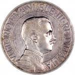 1911-R意大利2里拉银币,PCGS XF Detail,有清洗