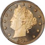 1910 Liberty Head Nickel. Proof-67+ Cameo (PCGS).