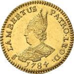 Belgique EVÊCHe DE LIeGE Sede Vacante 1784.