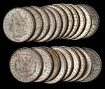 Lot of (500) 1882-O Morgan Silver Dollars. Mostly Extremely Fine to About Uncirculated.