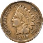 1909-S Indian Cent. VG-10 (PCGS).
