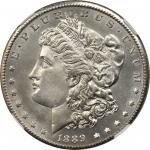 1889-CC Morgan Silver Dollar. MS-62 (NGC).