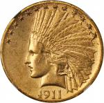 1911-S Indian Eagle. AU-55 (NGC).