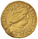 Italian coins;NAPOLI Ferdinando d'Aragona (1458-1494) Ducato con sigla T - MIR 64/5 AU (g 3.45) Pieg