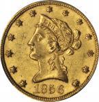 1856 Liberty Head Eagle. MS-62 (PCGS). CAC.