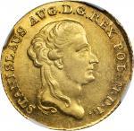 POLAND. 3 Ducat, 1794. Stanislaus Augustus (1764-95). NGC MS-61.