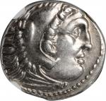 MACEDON. Kingdom of Macedon. Alexander III (the Great), 336-323 B.C. AR Drachm, Teos Mint, ca. 323-3