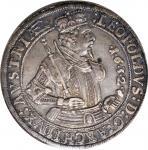 1632年奥地利1塔勒。霍尔铸币厂。 AUSTRIA. Taler, 1632. Hall Mint. Archduke Leopold V. PCGS EF-45.