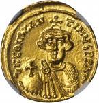 CONSTANS II, 641-668. AV Solidus (4.40 gms), Constantinople Mint, 1st Officinae.