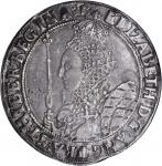 GREAT BRITAIN. Crown, ND (1601-02). Elizabeth I (1558-1603). NGC EF-40.