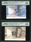 Scotland: Clydesdale Bank, a set of 4 specimen banknotes of the 2009 series, 5, 10, 20 and 50 pounds
