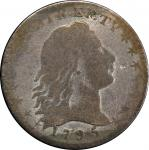 1795 Flowing Hair Half Dime. LM-10. Rarity-3. Poor/Fair Details--Damage (PCGS).
