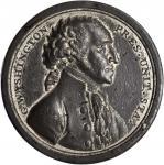 1797 (ca. 1805) Sansom Medal. Original. White Metal. By John Reich, for Joseph Sansom. Musante GW-58