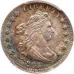 1807 Draped Bust Dime. PCGS MS65