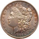 1897-O Morgan Dollar. PCGS EF45