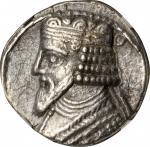 PARTHIA. Gotarzes II, 44-51 A.D. BI Tetradrachm, 360 SE (A.D. 48/9).NGC.