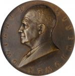 1958 United States Assay Commission Medal. Bronze. 51 mm. By Gilroy Roberts and Engelhardus von Hebe