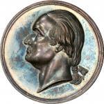 Circa 1854 Metropolitan Mechanics Institute medal. Musante GW-192, Baker-342, Julian AM-44. Silver.