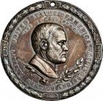 1871 Ulysses S. Grant Indian Peace Medal. Silver. 63.5 mm. 1789.8 grains. Julian IP-42, Prucha-53. C
