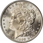 1898 Morgan Silver Dollar. MS-67+ (PCGS). CAC.