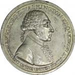 Circa 1800 Westwood medal. Second reverse. Musante GW-83, Baker-80. White Metal. MS-61 (PCGS).