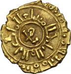 Monete e Medaglie di Zecche Italiane, Palermo o Messina.  Guglielmo II (1166-1189). Tarì con monogra