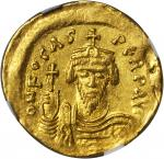 PHOCAS, 602-610. AV Solidus, Constantinople Mint, 3rd Officinae.