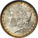 1899 Morgan Silver Dollar. MS-65 (NGC). CAC. OH.