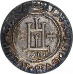 ITALY. Genoa. Scudo, 1611. Conrad II (1554-1637). PCGS MS-61 Secure Holder.