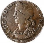 1786 Connecticut Copper. Miller 5.3-N, W-2575. Rarity-2. Mailed Bust Left, Hercules Head. VF-20 (PCG