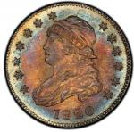 1820 Capped Bust Quarter. 1820 Browning-5. Rarity-5. Small 0. Mint State-66 (PCGS).PCGS Population:
