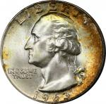 1963-D Washington Quarter. MS-67 (PCGS). CAC.
