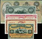 CUBA. El Banco Espanol De La Isla De Cuba. Mixed Dates. P-Various. PMG Very Fine to Uncirculated.
