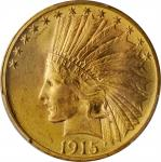 1915 Indian Eagle. MS-65 (PCGS).