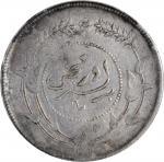 民国六年迪化银圆局造壹两银币。 (t) CHINA. Sinkiang. Sar (Tael), Year 6 (1917). PCGS Genuine--Cleaned, EF Details.