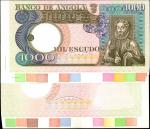 ANGOLA. Banco de Angola. 1000 Escudos, ND. P-108pp. Progressive Proof. Choice Uncirculated.