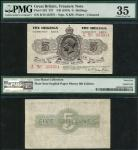 Treasury Series, Norman Fenwick Warren-Fisher (1919-1928), fractional 5 shillings, ND (28 November 1