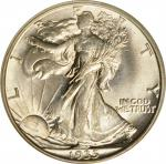 1935-D Walking Liberty Half Dollar. MS-64 (PCGS). OGH.