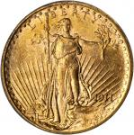 1911-S Saint-Gaudens Double Eagle. MS-64 (PCGS).