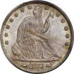 1873 Liberty Seated Half Dollar. Arrows. WB-106. Large Arrows. MS-65 (PCGS).