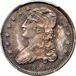 1834 Capped Bust Quarter. B-1, FS-901. Rarity-1. O/F in OF. MS-65 (PCGS).