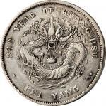 北洋三十四年与四川军政府造一圆银币各一枚。
