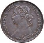 Foreign coins;INGHILTERRA Vittoria (1837-1901) Farthing 1886 - CU (g 2.85)     - FDC;30