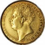 1823年英国2镑 GREAT BRITAIN. 2 Pounds, 1823. George IV. NGC AU-58.