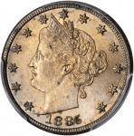 1885 Liberty Head Nickel. MS-64 (PCGS).