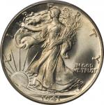 1941 Walking Liberty Half Dollar. MS-66 (PCGS). Gold Shield Holder.