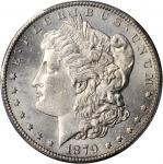 1879-CC Morgan Silver Dollar. Clear CC. Unc Details--Cleaned (PCGS).