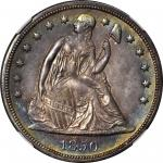 1850-O Liberty Seated Silver Dollar. OC-1. Rarity-2. MS-64 (NGC).